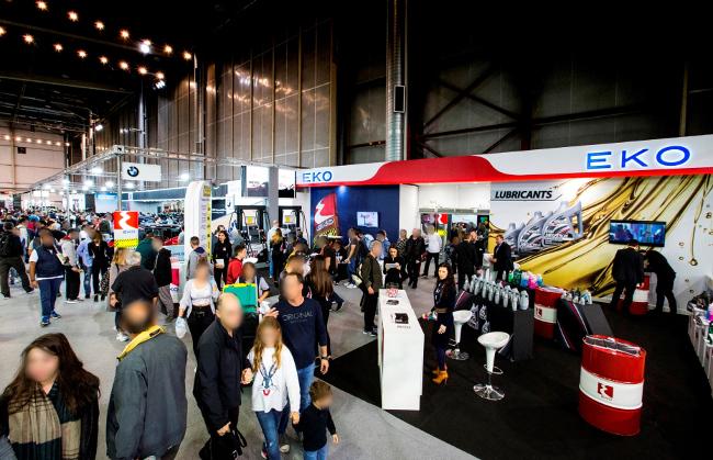 Πλάνα από τον χώρο της Έκθεσης όπου φιλοξενούνται τα δύο υπερσύγχρονα περίπτερα της ΕΚΟ.